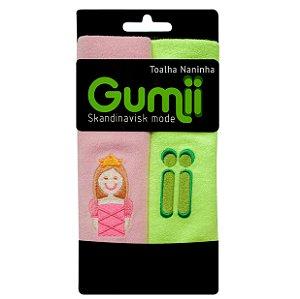 Toalha Naninha Princesa Lili - Pack 2 unidades - Gummi