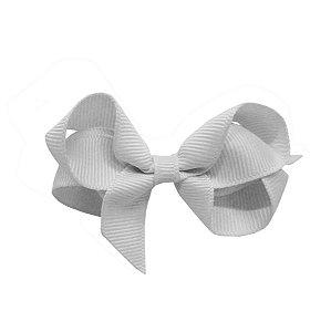 Laço em Gorgurão Royal Style Branco 7 cm Gumii