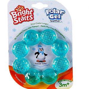 Mordedor Circular de Gel Polar Azul Bright Starts