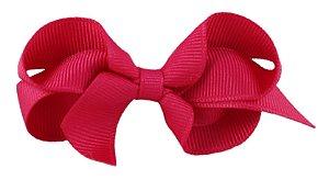 Laço em Gorgurão Royal Style Pink 7 cm Gumii