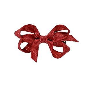 Laço em Gorgurão Royal Style Vermelho 5 cm Gumii