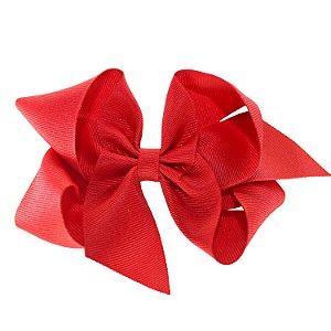 Laço em Gorgurão Royal Style Vermelho 12 cm Gumii