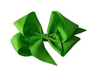 Laço em Gorgurão Royal Style Verde 12 cm Gumii