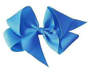 Laço em Gorgurão Royal Style Azul Claro 12 cm Gumii