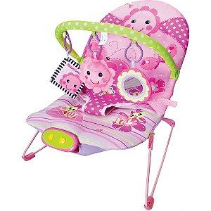Cadeira de Descanso Musical Vibratória- Flores | Girotondo