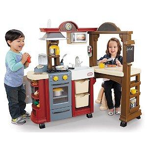 Cozinha e Bistrô Vermelha | Little Tikes
