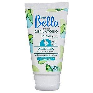 Creme Depilatório Facial Aloe 40Gr Depil Bella Pa1116
