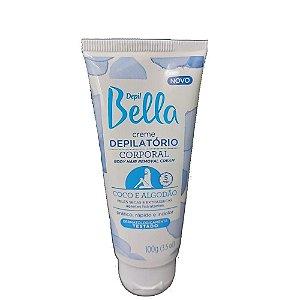 Creme Depilatório Corporal Depil Bella Coco e Algodão 100Gr Pa1573