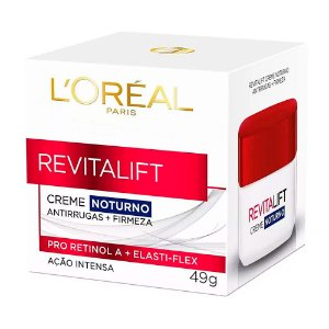 Creme Facial Loreal Revitalift Noturno 49Gr