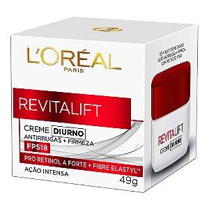Creme Facial Loreal Revitalift Diurno Fps30 49Gr