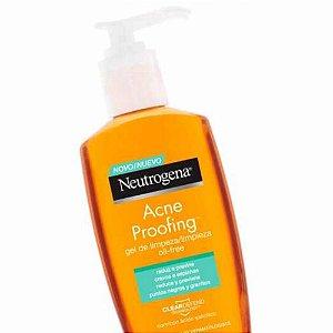 Gel de Limpeza Neutrogena Acne Proof Oil-Free 200ml