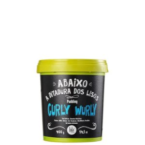 Lola Curly Wurly Pudding - Máscara Sem Enxágue 400g