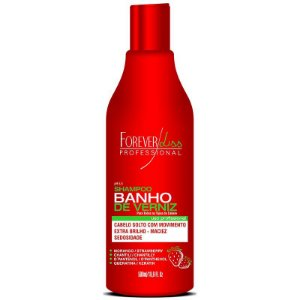Forever Liss Banho de Verniz Morango Shampoo 500ml