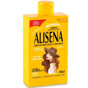 Muriel Alisena Shampoo Lisos e Soltos 300ml