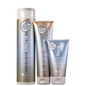 Kit Joico Blonde Life Brightening Shampoo 300ml, Condicionador 250ml e Máscara 150ml