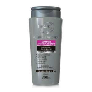 Shampoo Lacan Platinum Progress 300Ml