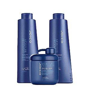 Kit Joico Moisture Recovery Shampoo 1 Litro, Condicionador 1 Litro e Máscara 500ml