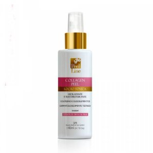 Collagen Peel Loção Tonica De Colágeno Peel Line 140Ml