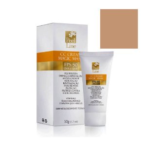 Cc Cream Magic Mask Fps50 Bege Médio Peel Line 50G