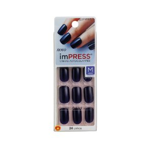 Unhas Kiss Impress Beautifull Night BIPM502BR