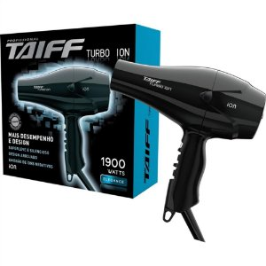 Secador Taiff Turbo Ion 1900W 127V