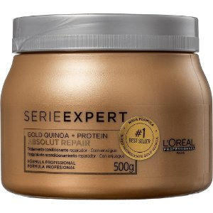 Máscara Loreal Professionnel Absolut Repair Gold Quinoa 500gr