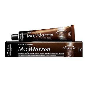 Coloração Loreal Majirel 6.8 Louro escuro marrom natural luminoso