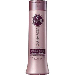 Shampoo Haskell Quina Rosa 300ml