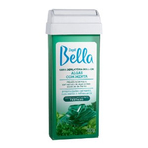Cera Refil Roll On Depil Bella Algas Menta 100G