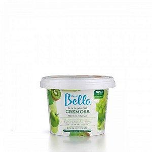 Cera Cremosa Depil Bella Micro-Ondas Frutas Verdes 200G
