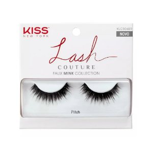 Cilios Kiss Inteiriços Lash Couture Pitch KLCS06BR