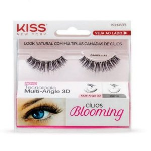 Cilios Kiss Blooming 05 Camellias KBH05BR