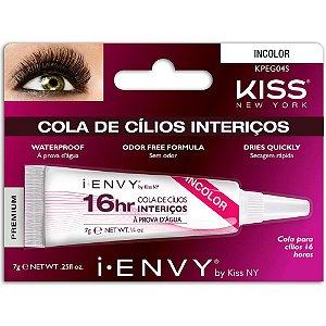 Cola De Cilios Kiss Longa Duração 16 Horas Incolor KPEG04S