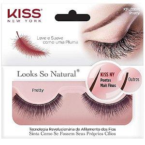 Cilios Kiss Looks So Natural Pretty KFL03BR