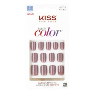 Unhas Kiss Salon Color Beautifull KSC52BR
