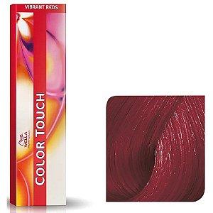 Tonalizante Wella Color Touch Vibrant Reds 66/45 60g Louro Escuro Intenso Vermelho Acajú