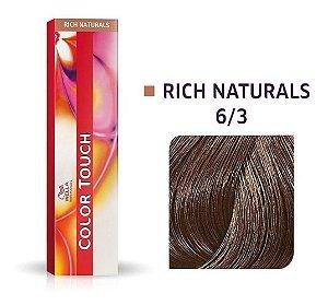 Tonalizante Wella Color Touch 6/3 60g Louro Escuro Dourado