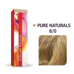 Tonalizante Wella Color Touch 8/0 60gr Louro Claro