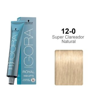 Coloração Schwarzkopf Igora Highlifts 12-0 Super Clareador Natural