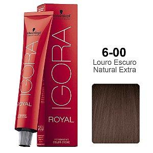 Coloração Schwarzkopf Igora 6-00 Louro Escuro Natural Extra