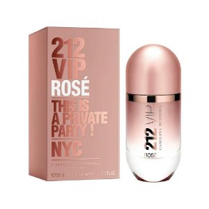 Perfume Carolina Herrera 212 Vip Rose Edp 50Ml