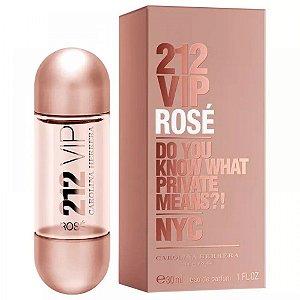 Perfume Carolina Herrera 212 Vip Rose Edp 30Ml