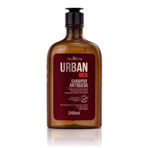 Shampoo Antiqueda Urban Men  240Ml
