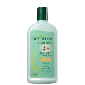 Condicionador Farmaervas Camomila E Amendoas 320Ml