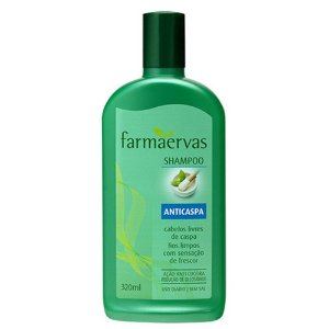 Shampoo Farmaervas Anticaspa 320Ml