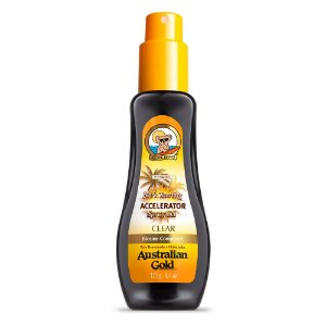 Acelerador Australian Gold Spray Gel Dark Tanning Clear 125Ml