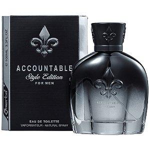 Perfume Accountable Style Edition Omerta Edt 100Ml