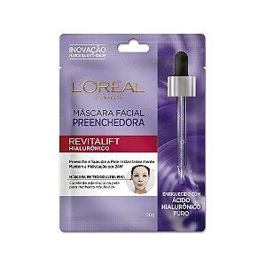 Mascara Facial Preenchedora Loreal Revitalift Hialuronico 30gr
