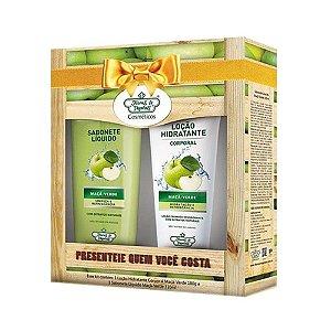 Kit Flores & Vegetais Frutas Maçã Verde