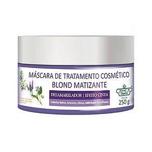 Máscara Flores & Vegetais Blond Matizante 250G